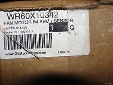 WR60X10342 FAN MOTOR IM ASM/ SENSOR NIB