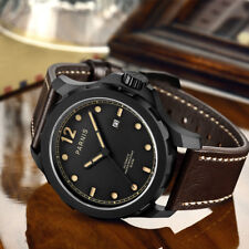 44mm Parnis Black Dial PVD Coated Sapphire Glass Automatic Mechanical mens Watch