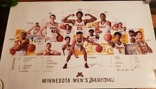 Minnesota Gophers Mens 2019-2020 Basketball Poster Kalscheur, Oturu, & Carr.