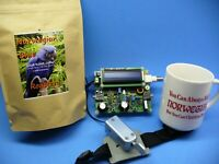 "HF Transceiver Kona Coffee ""accessory"" for QRP & QRO rigs."