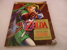 The Legend of Zelda Ocarina of Time Strategy Guide Players Book Nintendo 64 N64