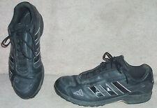 Men's black ADIDAS  baseball training shoes , sz 13