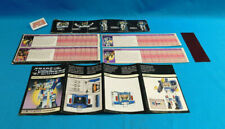 Transformers G1 Soundwave Buzzsaw Ravage & Rumble Tech Card + Manual Lot 1980's