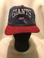 bd5d584f605589 Vtg New York Giants New Era Corduroy Snapback Hat Cap Made in USA