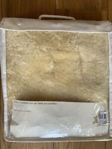 Lambskin Pushchair Liner John Lewis 100% Natural Lambswool Sheepskin Car Seat