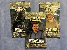 RARE STAR WARS WOTC THE EMPIRE STRIKES BACK x3 LOT Sealed TCG Card Booster Packs