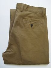 ORVIS ULTIMATE KHAKIS PLAIN TROUSERS BNWT MEN'S STRAIGHT W34 L38.5 BEIGE LEVR269