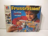 VINTAGE FRUSTRATION BOARD GAME BY MB GAMES 1986 - 100% COMPLETE