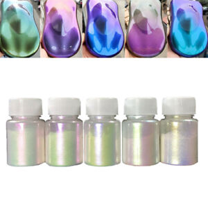 Chameleon Color Changing Pearl Powder For bicycle Car Paint Pigment 10g PA