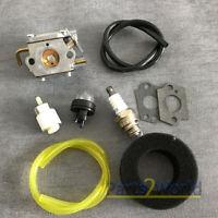 Carburetor Air Fuel Tune Up kit For Troy-Bilt TB70SS TB75SS TB90BC Trimmer