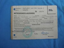 Germany 1949 identity card