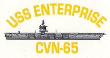Uss Enterprise Cvn-65 Decal