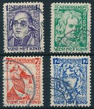 NVPH 220 - 223 Kinderzegels 1928 Serie Gebruikt