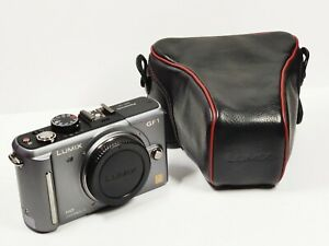 Panasonic LUMIX DMC-GF1 12.1MP Digital Camera - Silver (Body Only) *1695 SHOTS*