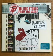 THE ROLLING STONES: From The Vault-Hampton Coliseum Live 1981 3 LP+DVD SEALED