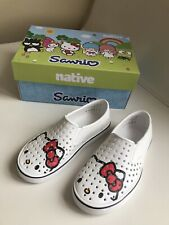 Native×Hello Kitty Sneakers size 1 youth new