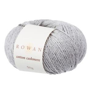 Rowan Cotton Cashmere -  VARIOUS SHADES - 50g balls