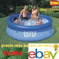 ENTREGA URGENTE INTEX Piscina Hinchable Easy Set 244 x 76 cm Familiar Redonda