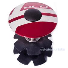 """XLC A-Head Plug 1 1/8"""" rojo tapa abdeck top cap # gabelkralle tipo impositivo garra"""