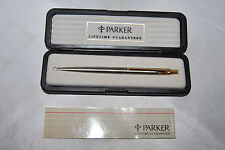 VINTAGE PARKER STAINLESS BALL  PEN  Great Condition!!