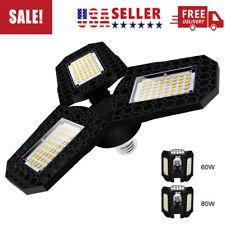 E27 Led Deformable Led Garage Light Super Bright Shop Ceiling Lights *Us Stock*