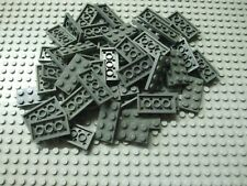 Bulk Lot of 50 Lego Plates 2x4  Dark Bluish Gray Part 3020