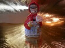 Very RARE Vintage Napco Little Red Riding Hood Figurine ABSOLUTELY DARLING!