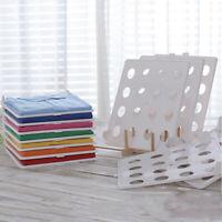 Rack Wardrobe Partition Closet Divider Rack Storage Organizer Shelf Divider