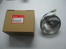 New Sealed Beam Genuine Honda Headlight, 6 volt, 33120-243-672, CB100, CB125S...
