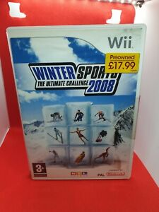 Nintendo Wii Winter Sports 2008