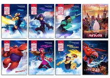 big hero 6 Animation Movie cartoon disney new Postcard 8pcs per set