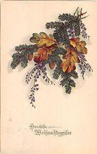 BG4650 weihnachten christmas fir branch   germany   greetings