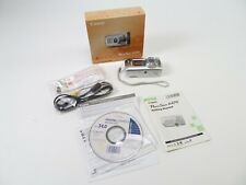 Canon PowerShot A470 in original box with fresh batteries, cables, and in EC.