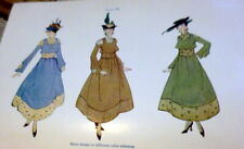 Rare Vtg 1910s Sewing Book Pattern Drafting Clothing For Women 1919