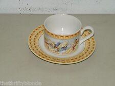 Habitat Americana CHERUB Omnibus By Fitz U0026 Floyd Cup Saucer Set 16976