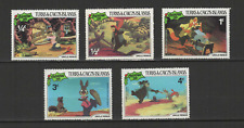 Turks & Caicos Islands 5 timbres neufs 1981 Walt Disney Uncle Remus /T3080