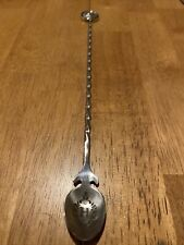 Hendricks Gin Metal Stir Spoon With Spinning Coin 💥RARE💥
