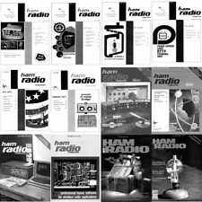 Ham Radio Magazine 269 Issues Complete Collection on DVD in PDF
