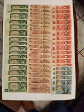 Huge Lot Of (54) 500 , 100 , 50 , 20 Korun Czechoslovakia Bank Notes !! NICE !!