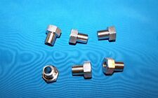 Adjustable bushing 6-pack for #2 V-groove bearing Stanless steel 3/8 OD x 1/4 ID