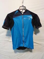 Louis Garneau Elite M-2 Cycling Jersey Men's Large Black/Blue Retail $149.99