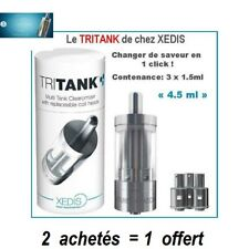 TRITANK DE XEDIS Triple saveur clearomizer (PROMO : 2 achetés =1 offert)