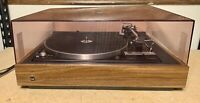 Vintage Dual 1237 Record Player Turntable Auto Return