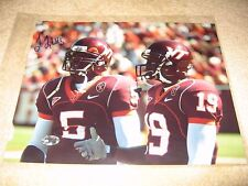 Tyrod Taylor Virginia Tech Hokies Signed 8x10 Ravens Bills Cleveland Browns