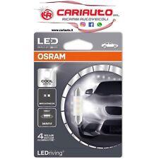OSRAM LED Lampadina Interno Auto C5W 6000K 36 mm A Siluro Bianco Freddo 180°