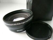 BK 58mm 0.45X Wide-Angle Lens For Fujifilm Fuji FinePix HS10 Camera