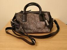 Black Leather handbag - New