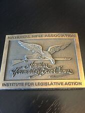 National Rifle Association America Founded by Gun Owners Belt Buckle