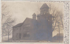 RPPC,Mt.Vernon,Iowa,Pub.School,Linn County,Osgood Photo,# 77,Used,No Stamp,c.'08