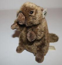 WWF Otter Biber Stofftier Kuscheltier Schmusetier 19cm RAR TOP